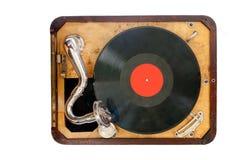 Старый патефон Стоковое Изображение RF
