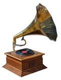 Старый патефон Стоковая Фотография RF