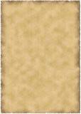 старый пергамент Стоковые Изображения RF