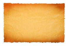 старый пергамент Стоковое Изображение