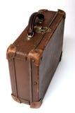 старый перемещать чемодана стоковые изображения rf