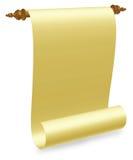 старый перечень пергамента Стоковые Фото