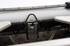 Старый печатать машинки Стоковые Фотографии RF