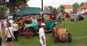 Старый пикник автомобиля Стоковые Фотографии RF