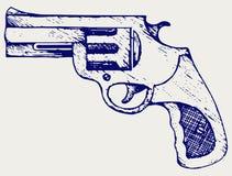 старый пистолет Стоковое Изображение