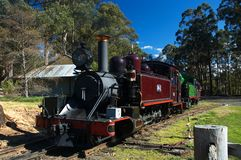 старый поезд пара Стоковые Изображения RF