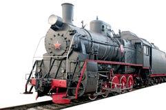старый поезд пара Стоковое Изображение