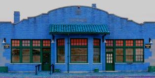 старый поезд станции Стоковое Изображение RF