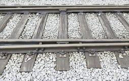 старый поезд следов Стоковое Изображение
