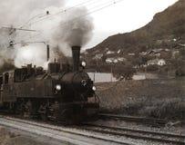 Старый поезд, Швейцария Стоковое Изображение RF