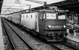 старый поезд Стоковая Фотография RF