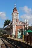 Старый поезд Staion Стоковая Фотография