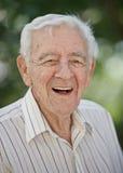 Старый пожилой человек Стоковая Фотография