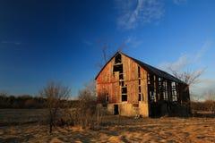 Старый покинутый амбар Стоковое фото RF