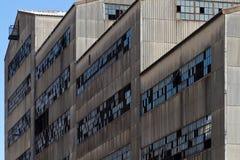 Старый покинутый завод выключателя угля Стоковое Фото