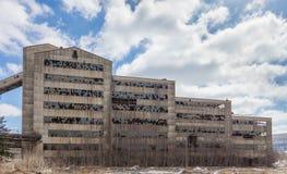 Старый покинутый завод выключателя угля Стоковая Фотография RF