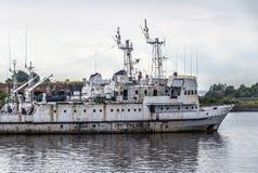 Старый покинутый корабль Стоковая Фотография