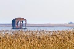 Старый покинутый пакгауз Стоковая Фотография