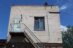 Старый покинутый пакгауз Стоковые Изображения