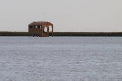 Старый покинутый пакгауз Стоковое Фото