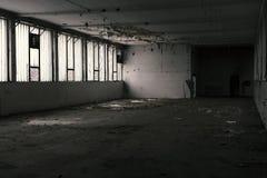 Старый покинутый пакгауз Стоковое Изображение