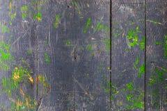 Старый покрашенный grunge деревянным Стоковые Изображения RF