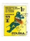 старый польский штемпель Стоковые Изображения