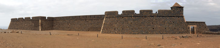 Старый португальский форт Стоковые Фотографии RF
