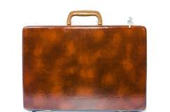 Старый портфель. Стоковая Фотография RF