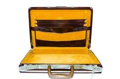 Старый портфель. Стоковая Фотография