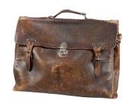 Старый портфель стоковое изображение