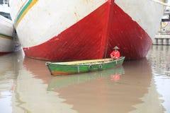 Старый порт в ДЖАКАРТЕ от колониального времени Стоковое Изображение