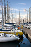 Старый порт Ла Cala Стоковая Фотография RF