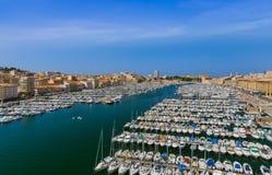 Старый порт - марсель Франция Стоковая Фотография RF