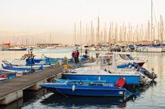 Старый порт - Палермо Стоковая Фотография RF