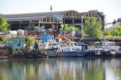 старый порт стоковое изображение