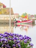 старый порт honfleur Нормандия 05 Франция Стоковое Фото
