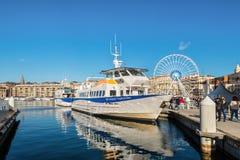 Старый порт Vieux в марселе, Провансали, Франции Стоковое фото RF