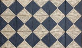 Старый пол мозаики, стоковая фотография