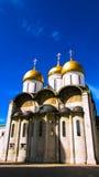 Старый правоверный собор в Кремле Стоковое Изображение RF