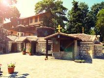 Старый правоверный St Константин и Helena монастыря, Болгария стоковая фотография rf