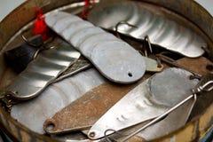 Старый прикорм рыболовства Стоковое Изображение RF
