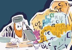 старый равин Стоковое Изображение