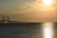 Старый разрушенный мост Стоковые Фотографии RF