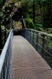 Старый разрушенный мост Стоковое Изображение