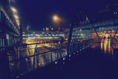 Старый разрушенный мост Стоковые Изображения RF