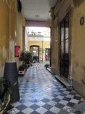 Старый район conventillo Сан Telmo Буэноса-Айрес Аргентины стоковые изображения