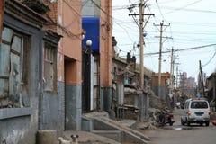 Старый район Hutong Datong Стоковая Фотография RF