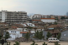 Старый район Hutong Datong Стоковая Фотография