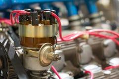 Старый рассекатель двигателя Стоковое Фото